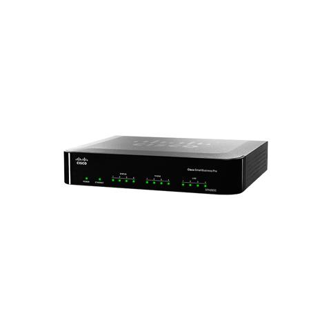 Image of IP Telephony Gateway with 4 FXS and 4 FXO Ports