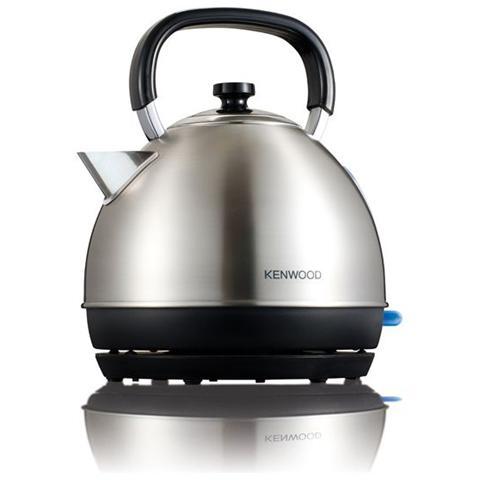 SKM110 Bollitore Cordless Capacità1.6 Litri Potenza 2200 Watt Colore Inox / Nero