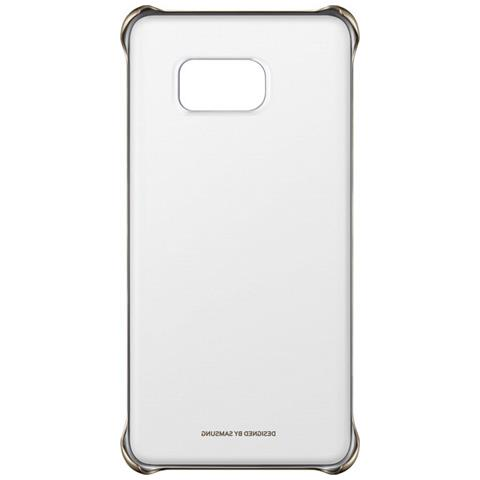 SAMSUNG Clear Cover Argento S6 Edge +