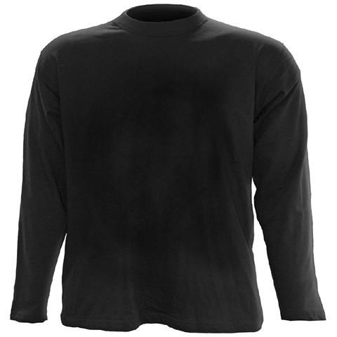 SPIRAL Urban Fashion - Longsleeve T-Shirt Black
