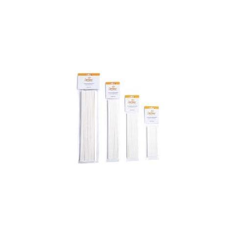 Decora Confezione 25 stecche in carta forno 3,8 x 152mm
