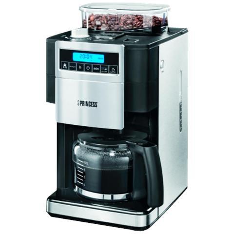 Macchina da Caffè con Filtro Serbatoio 1.25 L Potenza 1000 Watt Colore Nero