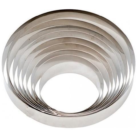 Cerchi In Acciaio Inox Della   4 Cm H - Cm 26