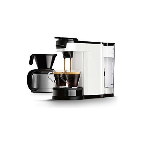 Philips HD7892/01Senseo Switch macchina per il caffè 2in 1, colore: bianco, 1l (Caffet...