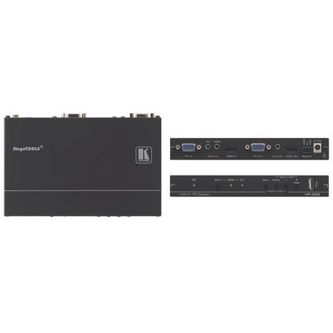 Kramer Electronics VP-426, 0 - 40 °C, -40 - 70 °C, 10 - 90%, Nero