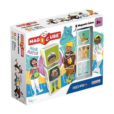 GEOMAG MagiCube Match & Mix 6 Bambino giocattolo educativo