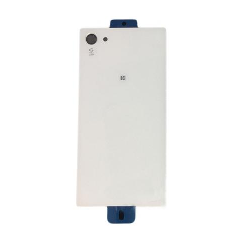 BOMA Retro Cover Scocca Ricambio Sony Xperia Z5 Compact E5823 Bianco Copri Batteria