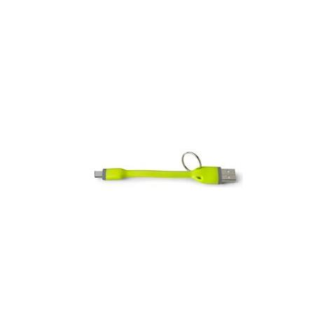 CELLY Cavo Dati / Caricatore USB per Smartphone Colore Verde