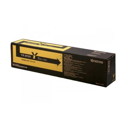 1T02K9ANL0 Toner Originale Giallo per TASKalfa 6550/7550ci Capacità 30000 Pagine
