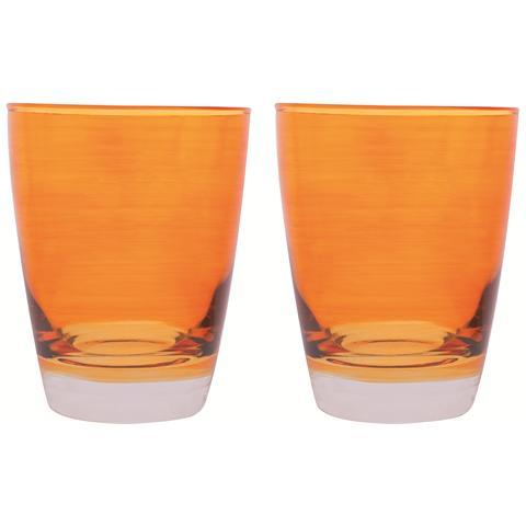 Confezione 2 bicchieri in vetro
