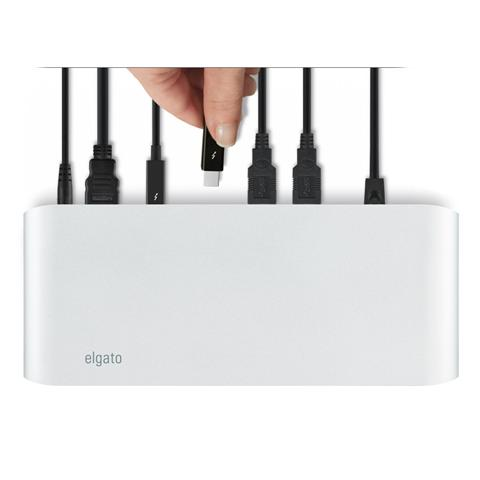 ELGATO Thunderbolt 2 Dock 2xThunderbolt HDMI (fino a 4K) Ethernet 3xUSB 3.0