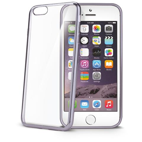 CELLY Laser Cover iPhone 6s Trasparente Black