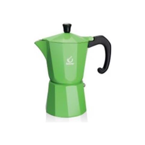 Caffettiera 6 tazze Colore Verde