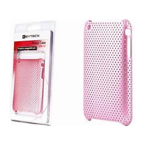 Virus Custodia Cover Proteggi I-phone In Plastica Keyteck Pink Cph-12