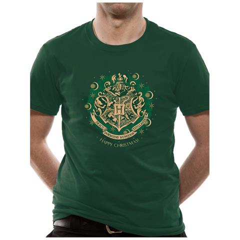 CID Harry Potter - Happy Hogwarts (T-Shirt Unisex Tg. L)