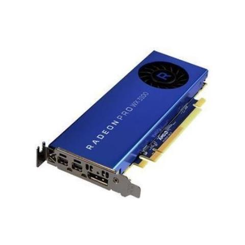 Image of Radeon Pro WX 3100 4GB DDR3 PCI Express 2.0 / 2 x Mini DisplayPort