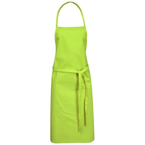 Reeva Grembiule In Cotone (65 X 90 Cm) (verde Lime)