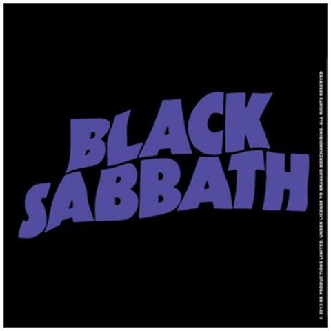 Black Sabbath - Wavy Logo (sottobicchiere)