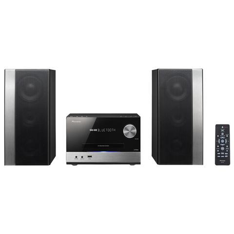 Sistema Micro Hi-Fi X-PM32 Lettore CD Supporto MP3 / WMA Potenza Totale 150Watt Bluetooth USB