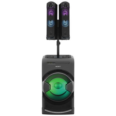 SONY MHC-GT4D, Midi set, 3-vie, Nero, 3,5 mm, AM, FM, 3.5mm