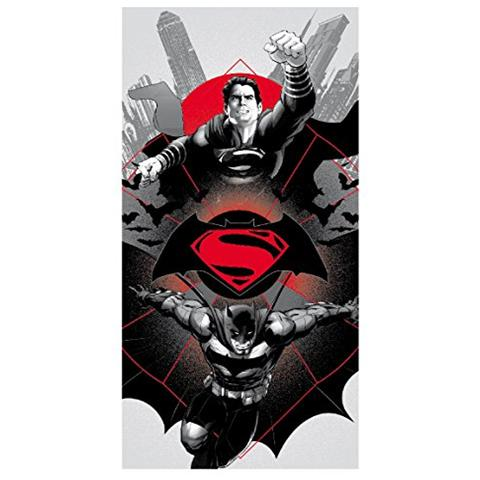 CERDA Asciugamano Telo Mare Batman V Superman Towel Logo 140 X 70 Cm