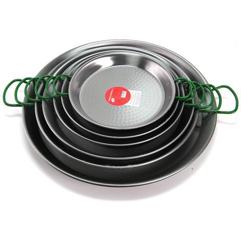 Vaello Paellera Ferro Martellato Cm50 Pentole Cucina