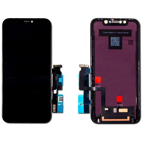 Image of Ricambio Lcd Display Schermo Frame Screen Touch Nero Per Apple Iphone Xr A1984