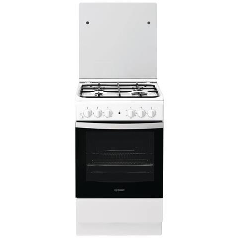 Cucina Elettrica F156139 4 Fuochi a Gas Forno Elettrico Classe A Dimensioni 50 x 60 cm Col...