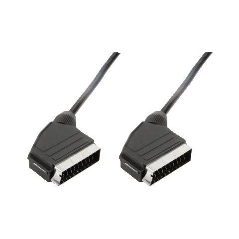 LOGILINK Scart - Scart, 1.5m, 1,5m, SCART (21-pin) , SCART (21-pin)