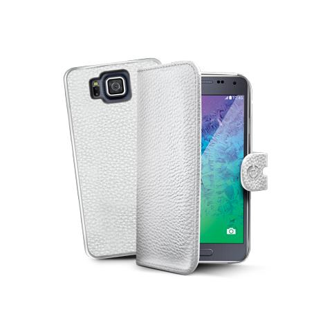 CELLY wh pu wallet case for galaxy alpha
