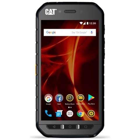 "CAT S41 Nero 32 GB 4G / LTE Display 5"" HD Slot Micro SD Fotocamera 13 Mpx Android Italia"