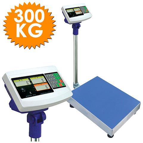 Bilancia Bilico Digitale Elettronica Professionale 300 Kg Con Doppio Display