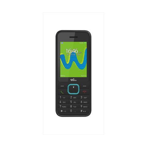 """WIKO Riff 3 Cellulare Dual Sim Display 2.4"""" +Slot Micro SD Fotocamera VGA RadioFM e Bluetooth Colore Nero - Italia"""