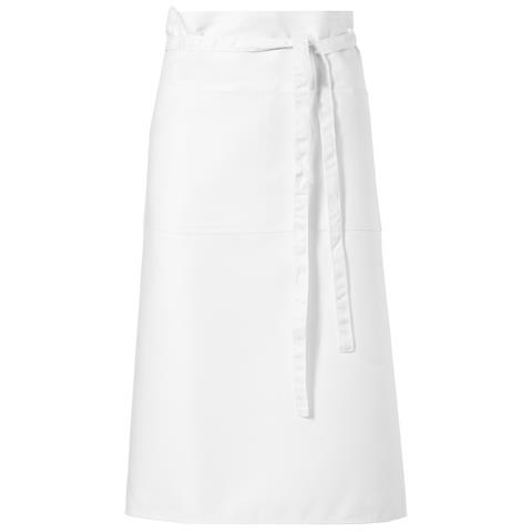 Skyla Grembiule Da Barista (75 X 90 Cm) (bianco)