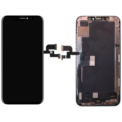 Image of Ricambio Lcd Display Schermo Frame Screen Touch Nero Per Apple Iphone Xs A1920