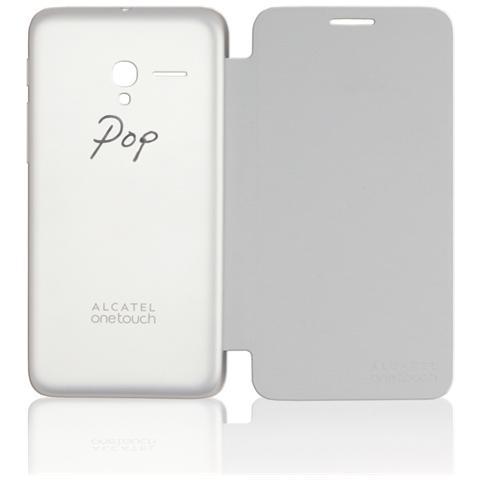ALCATEL Flip Cover Silver Pop 3 5