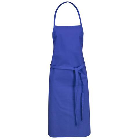 Reeva Grembiule In Cotone (65 X 90 Cm) (blu Reale)