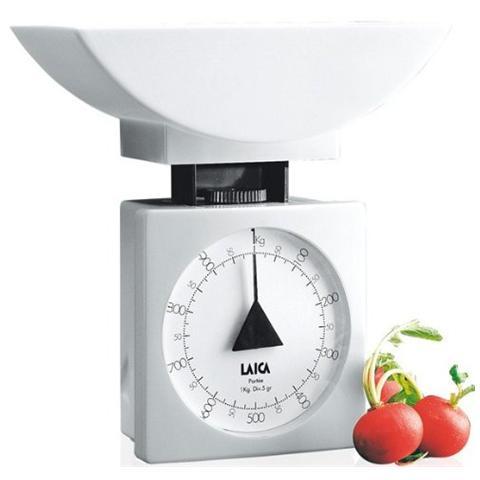 Bilancia Meccanica da Cucina Portata 1 kg Colore Bianco