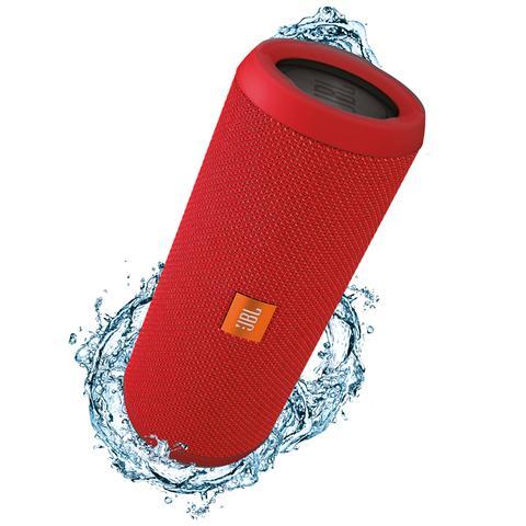 JBL Speaker Audio Portatile Flip 3 Bluetooth Impermeabile Potenza 2 x 8W colore Rosso