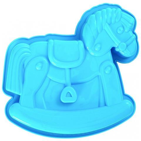Stampo In Silicone Cavallo A Dondolo Baby Shower Pavoni