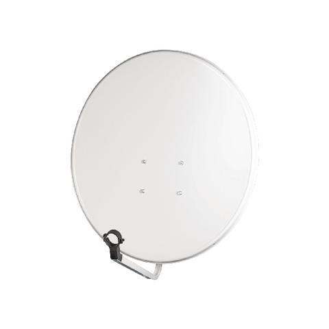KÖNIG SAT-SD80, Bianco, Acciaio