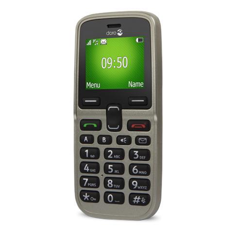 "Doro PhoneEasy 5030 Champagne Display 1.77"" Bluetooth RadioFM - Italia"