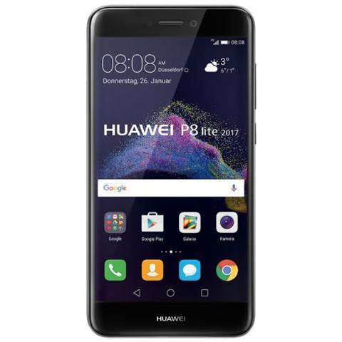 "HUAWEI P8 Lite 2017 Nero 16 GB 4G/LTE Display 5.2"" Full HD Slot Micro SD Fotocamera 12 Mpx Android Italia"