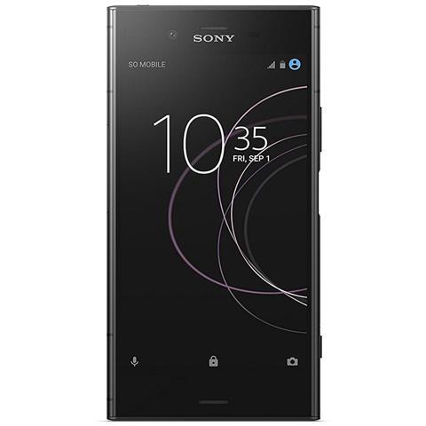 """SONY Xperia XZ1 Nero 64 GB 4G / LTE Display 5.2"""" Full HD Slot Micro SD Fotocamera 19 Mpx Android Tim Italia"""