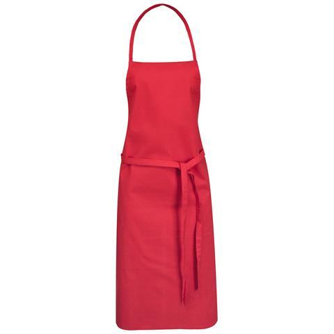 Reeva Grembiule In Cotone (65 X 90 Cm) (rosso)