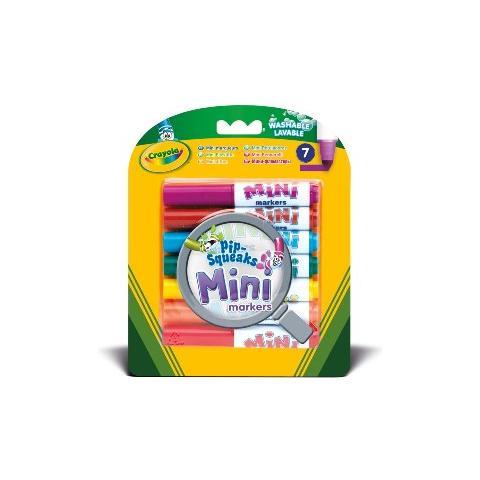 CRAYOLA Colora 7 Mini Pennarelli Lavabili 8337