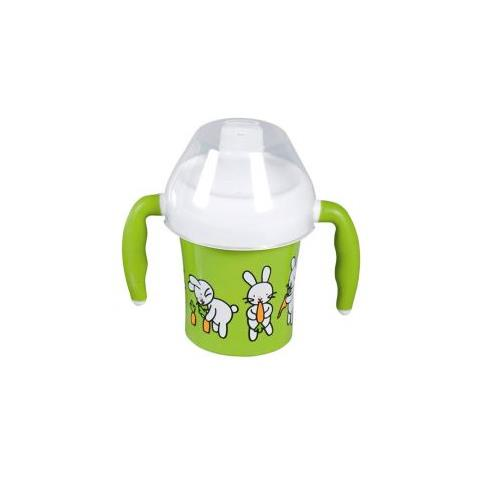 Tazza per bambini Farm Family 200 ml con due manici