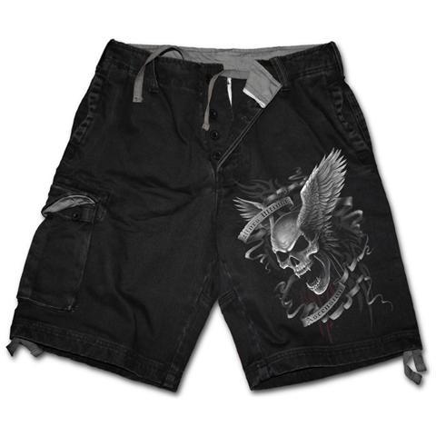 SPIRAL Ascension - Vintage Cargo Black (Pantalone Corto Uomo Tg. L)