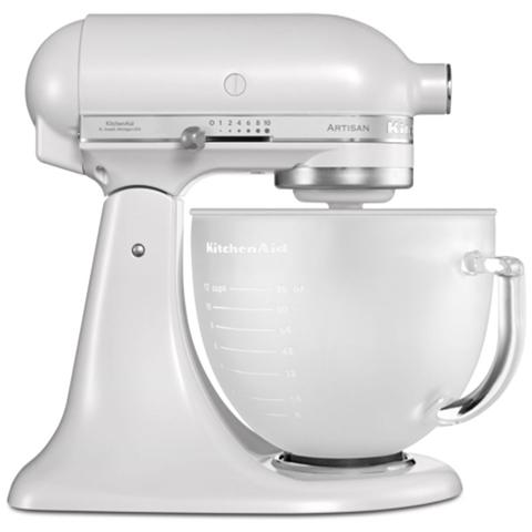 Image of 5KSM156EFP Robot da Cucina Potenza 300 Watt Capacità Ciotola 4,8 Litri Colore Bianco Perla