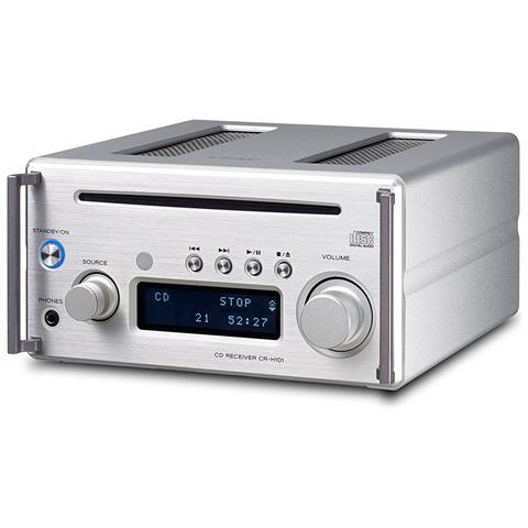TEAC Crh101dabs-hifi Micro Con Dab / Dab+-micro Hifi 2x26w Cd / Mp3 Usb Dab+ Bt Argento